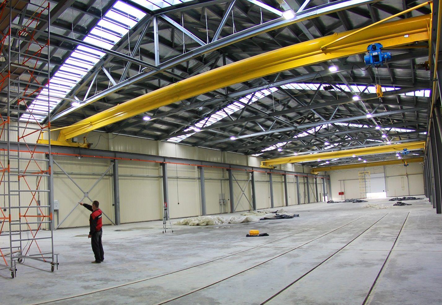 Производство и монтаж металлических складов