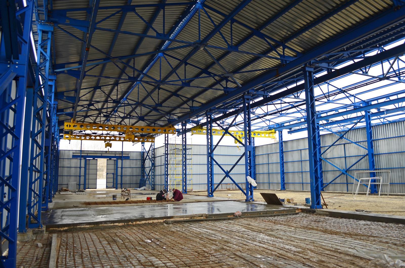 Строительство металлических складов в Москве