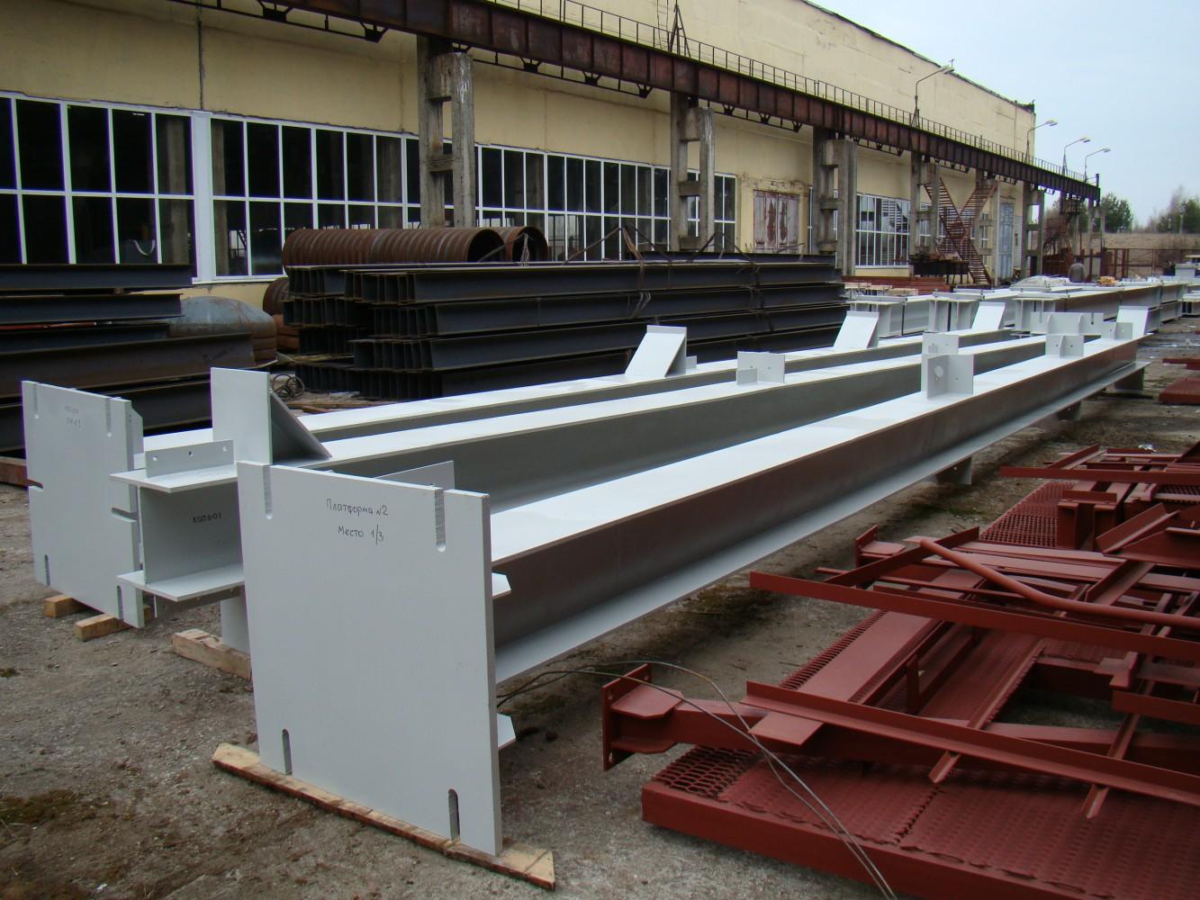 Изготовление металлических колонн в Москве